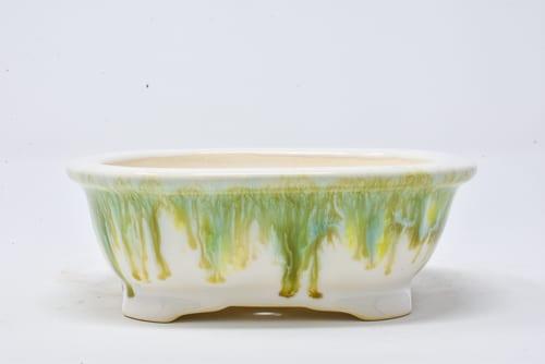 green drip pot