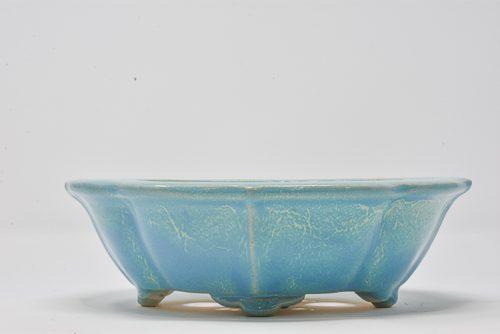 blue pot