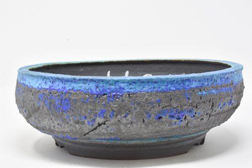 electric blue pot