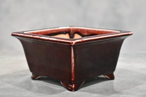 blood red pot