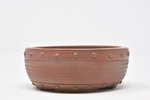 unglazed pot